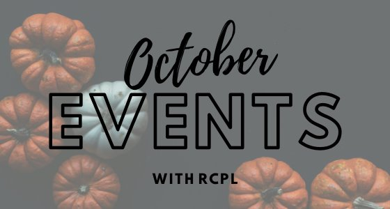 October Events with RCPL