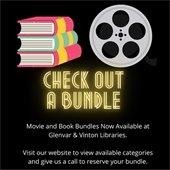 Check Out a Bundle! Movie & Book Bundles Available at Glenvar and Vinton.