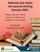 Due Dates Resume January