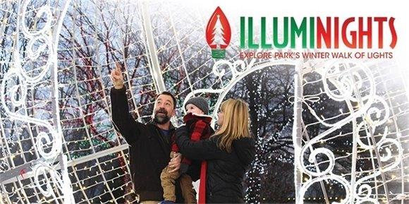 Illuminights - Explore Park's Winter Walk of Lights