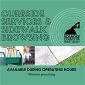 Curbside Services & Sidewalk Browsing