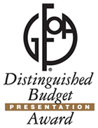 Distinguished Budget Presentation Award Opens in new window