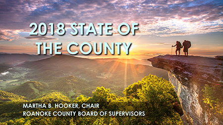 2018 State of the County Presented by Board of Supervisors Chair Martha Hooker