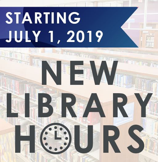 New Hours July 1