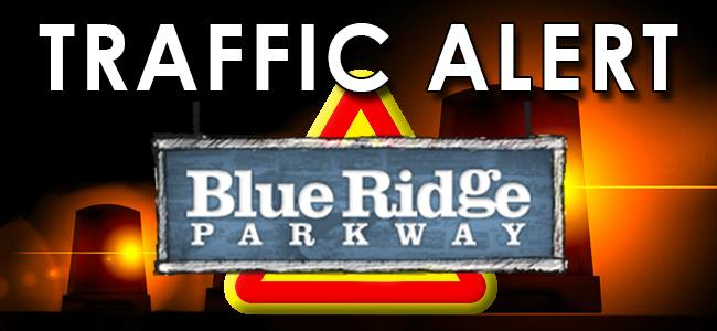 Traffic Alert Blue Ridge Parkway Logo