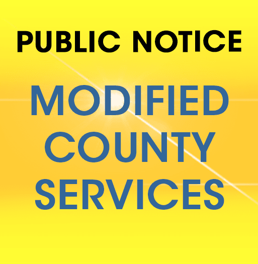 Modified County Services 3-18-20