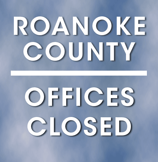 County Offices Closed