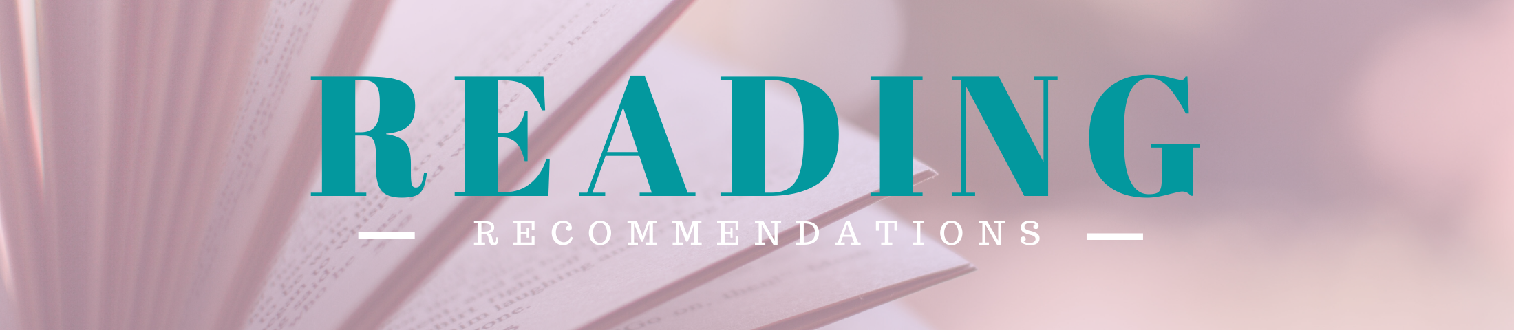 Blog Reading Recommendations