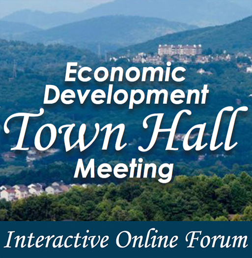 EconDev Town Hall Spotlight Image