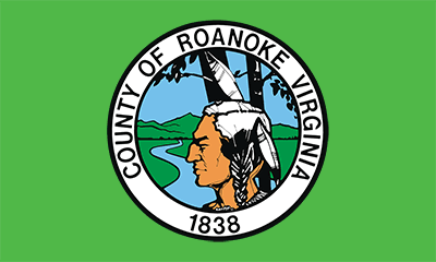 Roanoke County Flag Image
