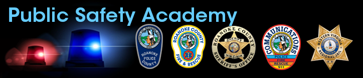 Public Safety Academy Page Header