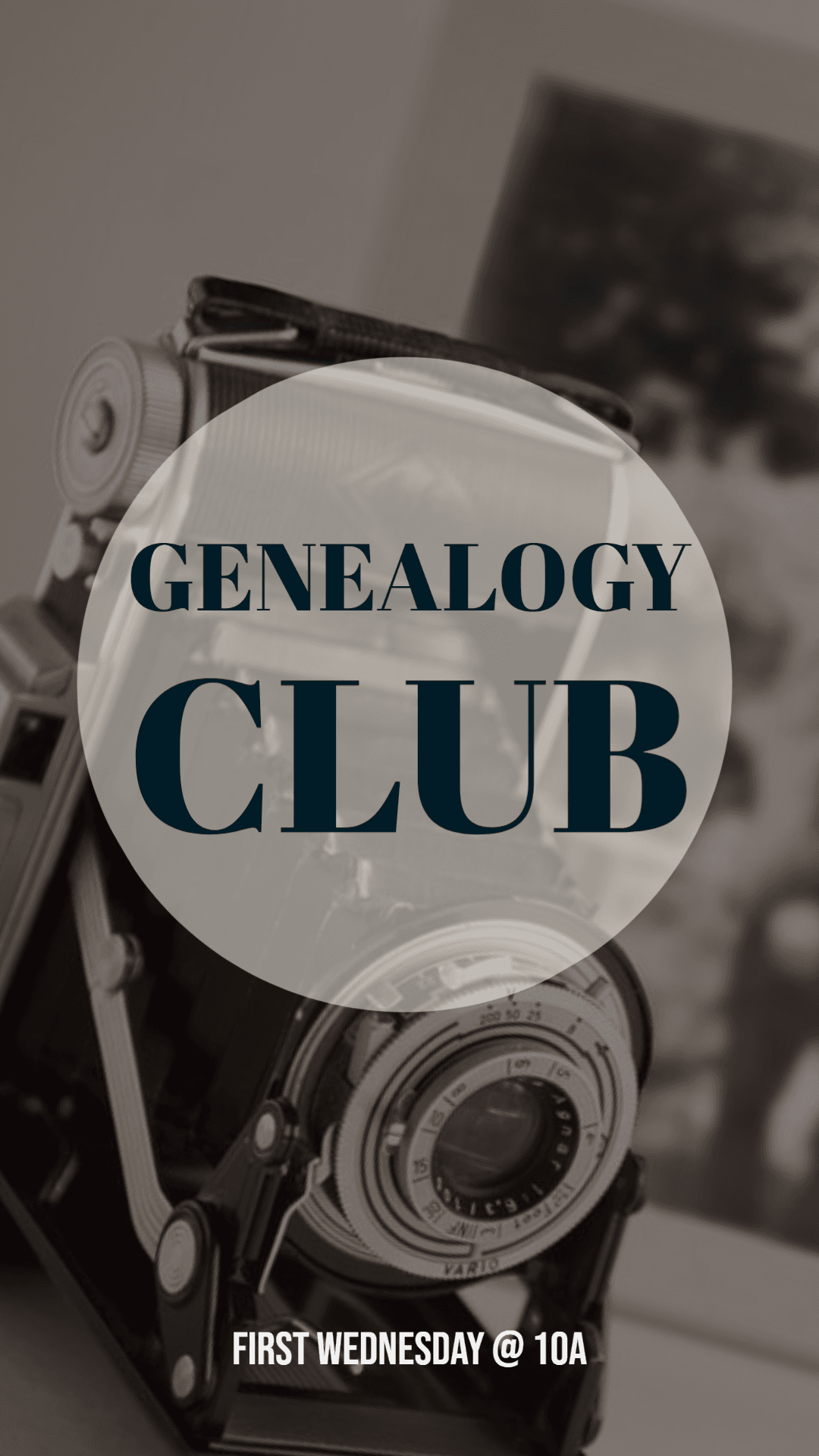 Genealogy Club Info