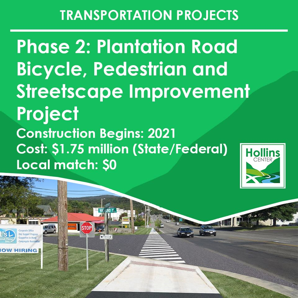 Phase 2 Plantation Road Bicycle Pedestrian and Streetscape Improvement Project