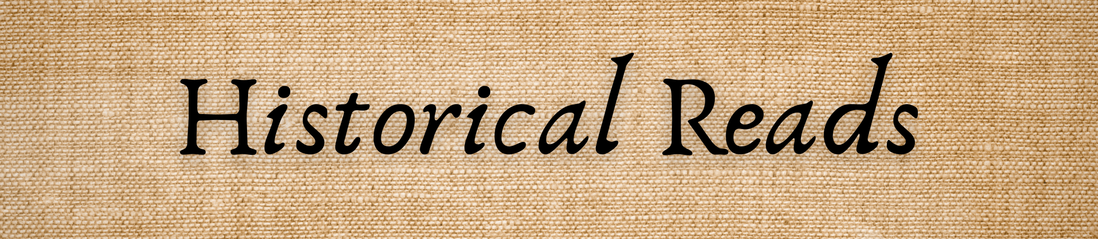 Historical Reads Banner