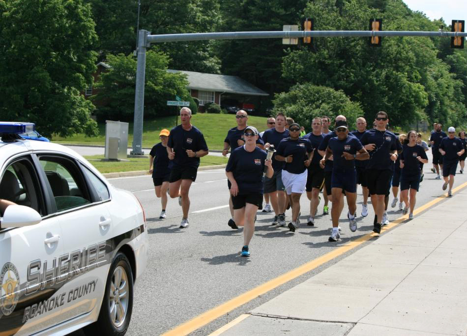 Special Olympics Torch Run 2012