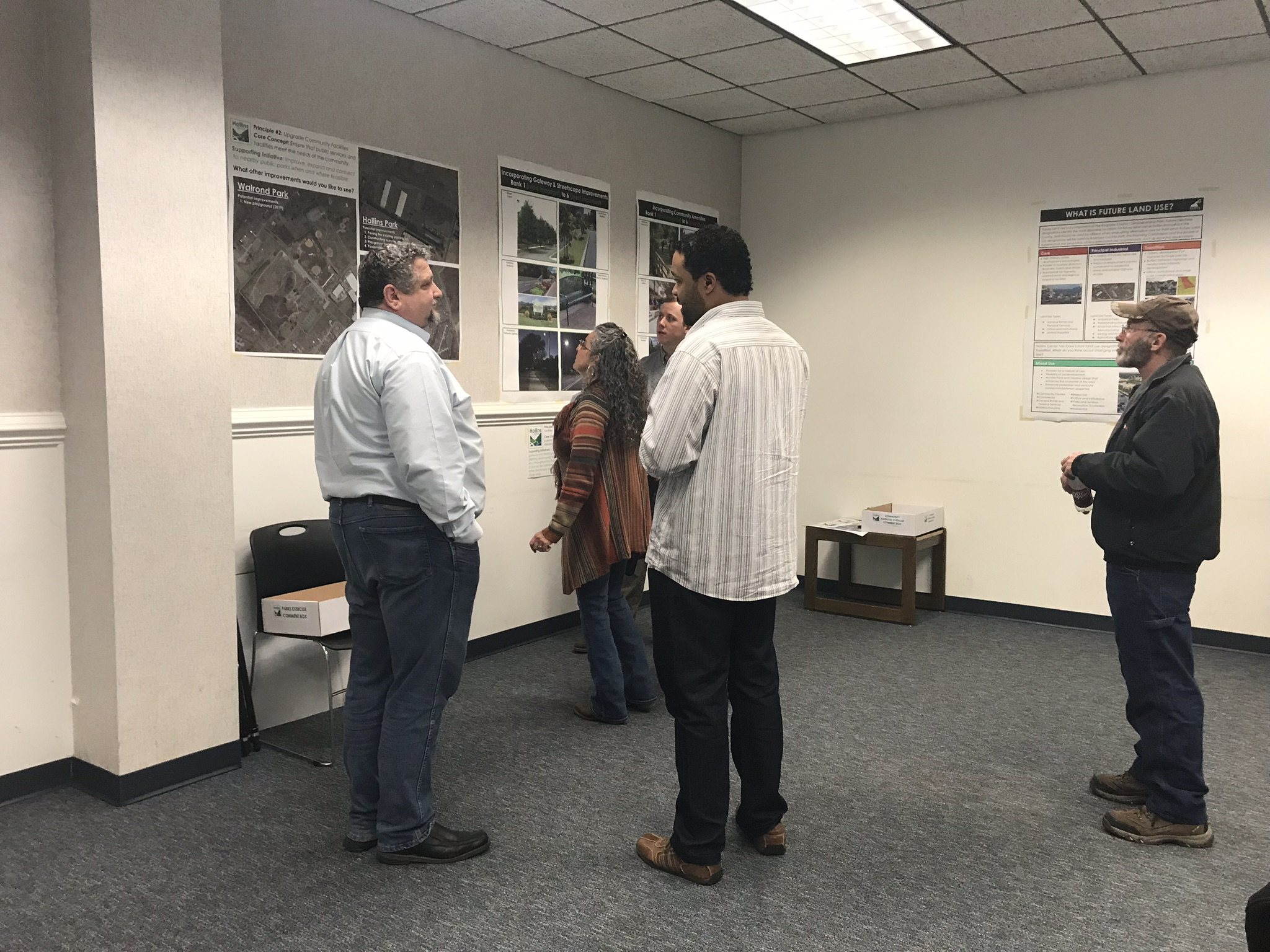 Draft Plan Reveal Meeting - March 2019