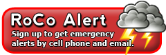 Sign up for RoCo Alert!