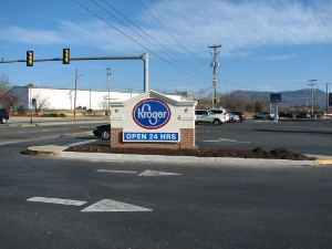 Kroger Sign After
