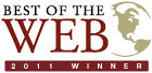 2011 Best of the Web Winner