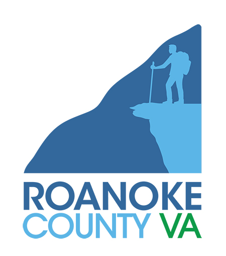 Vertical Roanoke County Marketing Brand